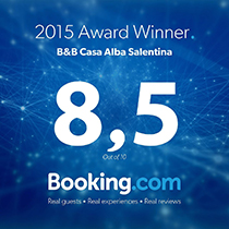 Badge Booking Casa Alba Salentina